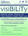 What will be happening? Webinars; Events, discussions & clinics; Twitter Q&A; Research Findings; Social media takeovers; Launch of the LGBT Sector Women's Network